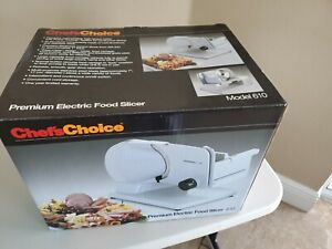 Chefs Choice Premium Electric Food Meat Slicer 610