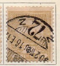 Hungría 1900 antiguo problema Fine Used 7f. 104365