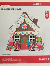 Gingerbread House Christmas Craft Foam Kit
