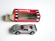 FORD GT 40 in Argent Silver Metallic, Speedy/ITALY #804 environ en 1:66 en boîte!