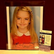 Mckenna Grace Signed Autograph 8x10 Photograph JSA COA Picture Photo