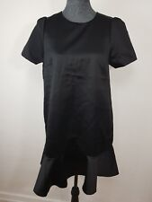Neues H&M Damenkleid Minikleid Sexy Schwarz Gr. 42 Kurzarm NEU/OVP