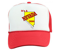 Trucker Hat Cap Foam Mesh It's A Nevada Thing You Wouldn't Understand State