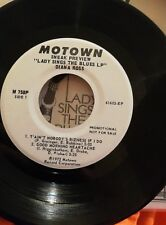 Diana Ross - Lady Sings The Blues sneak preview Rare Promo US Maxi Single M758P