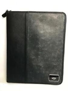 """UGG Fleece Lined Zipped 9.7"""" iPad Case - Smoke Grey"""