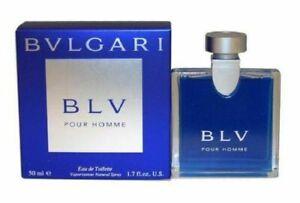 BLV Pour Homme Bvlgari  Eau De Toilette for Men 3.4 oz /100 ml NIB Original