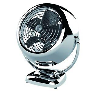 Vornado vintage design model V Fan indoor fan air circulator in chrome