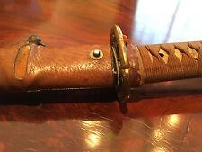 An Antique Japanese Katana (Samurai Sword).