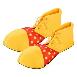 Clown Cosplay Character Shoes Circus Yellow Fancy Dress Carnival Costume Accesso