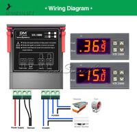 STC-1000 Digital AC 110-220V Temperature Controller Thermostat Aquarium Sensor