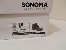 NEW SONOMA GOODS FOR LIFE REDDAN VITALIZE ORTHOLITE ANKLE BOOTS SZ 8 MSRP $89.99