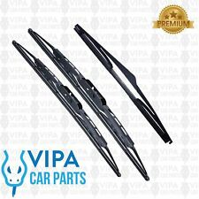 Kia Picanto Hatchback MAY 2004 to DEC 2011 Windscreen Wiper Blades Set