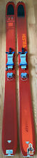 Dynafit Beast 108 180 cm with 22 Designs Lynx Telemark Skis with Crampons