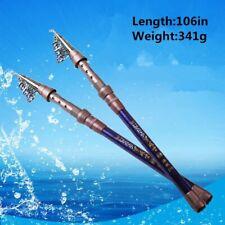 "106"" 341g Sea Fishing Pole High Quality Fiber Telescopic Rod"