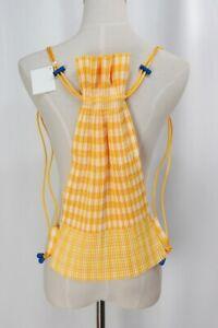 ISSEY MIYAKE me Yellow Pleats Backpack 110 0712