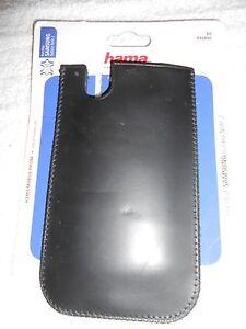 TASCHE für SAMSUNG GALAXY NOTE 2 HAMA HANDY 16486 schwarz SLEEVE CASE ETUI LEDER