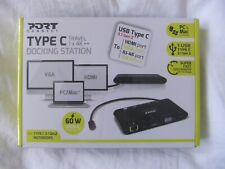 TYPE C port connect docking station BRAND NEW IN BOX
