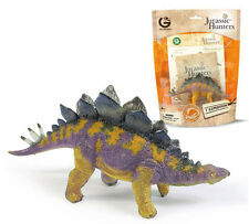GEOWORLD STEGOSAURUS JURASSIC HUNTERS EDUCATIONAL DINOSAUR FIGURES & FACT CARDS