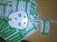 50 X Pat Testing Labels Passed Cable Wrap Labels