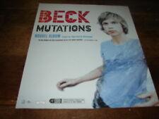 BECK - PUBLICITE / ADVERT MUTATIONS !!!!!!!!!!!!