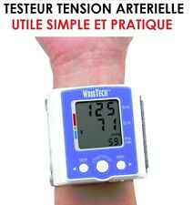 INDISPENSABLE! TESTEUR DE TENSION ARTERIELLE + RYTHME CARDIAQUE! SUPER SIMPLE!