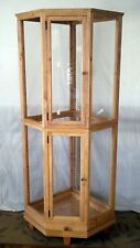 "Custom Built Wood Bird Cage -  Fits snug in a corner 60"" tall 20"" wide."
