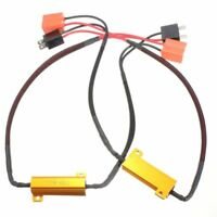 2x H7 LED Fog Light HeadLight Canbus No Error Load Resistor Wiring Harness