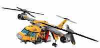 1298PCS Jungle Helicopter Building Blocks Toy Model Brick Figures New