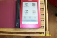 SONY E Reader Touch Edition Tablet PRS-600 Red