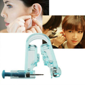 Disposable Ear Piercing Gun Safety Asepsis Tool Needle Body Kit Stud Earring
