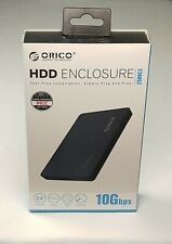 ORICO 2.5 inch Type-C Hard Drive Enclosure USB3.1 Gen2 Type-C SSD Adapter USB3.0