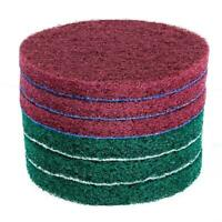 1 Set Scrub Pads 5 Drill Power Brush Tile Scrubber Scouring Pads Clean Tool