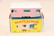 Matchbox Lesney No 23 Trailer Caravan mint in box all original condition SUPERB