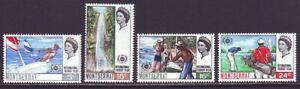 Montserrat 1967 SC 184-12 MNH Set Tourism