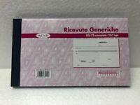 10 Blocchi Ricevute Generiche 1602 50x2 copie formato 10x17