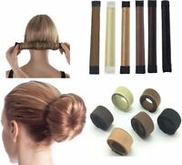 Womens Girls Magic Hair Snap Easy Bun Snap Styling French Twist Maker