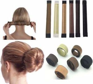 Womens Girls Magic Hair Snap Easy Bun Snap Styling French Twist Maker Free Post