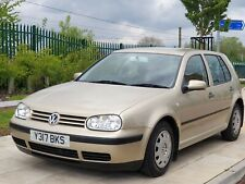 2001 VW GOLF 1.4 MANUAL  5 DOOR ONLY 60,000 MILES