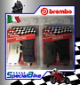KTM SUPERDUKE R 1290 2014 > BREMBO RC CARBON BRAKE PADS 2 SETS RACING TRACK