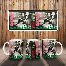 More details for the clash london calling album art mug ideal gift