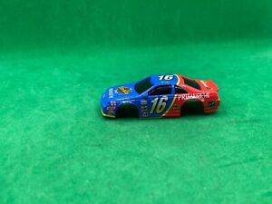 ORIGINAL TYCO/MATTEL 440-X2, MUSGRAVE FAMILY CHANNEL BODY, BLUE/RED # 16, NEW