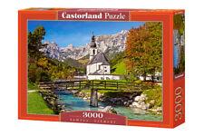 """Brand New Castorland Puzzle 3000 RAMSAU, GERMANY 36"""" x 27"""" C-300464"""