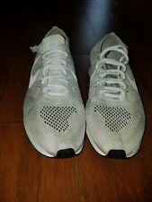 wholesale dealer 2d30b 2eb6e Nike Flyknit Racer Running Shoes Goddess white platinum men 14 US damaged!