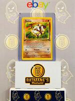 Mankey 55/64 1st Edition NM to Mint Jungle Set Non-Holo Pokemon Card