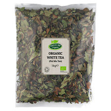 Organic White Tea (Pai Mu Tan) Loose Leaf Certified Organic