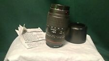 Sigma 70-300mm Zoom Lens F4-5.6 DL Macro Super with Hood ****Free Shipping****