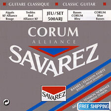 Savarez 500ARJ Guitar String Alliance Corum Acoustic Classical Mixed Tension Set