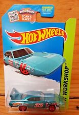 HOT WHEELS 2015 HW WORKSHOP '70 PLYMOUTH SUPERBIRD METALFLAKE TEAL 229/250 (A+/A