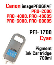 Pfi-1700 Cyan Canon imagePROGRAF Pro Compatible Ink Cartridge 700ml
