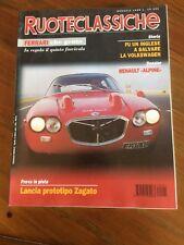 1996 Ruoteclassiche 91 Renault Alpine Alfa Romeo P2 Lancia sport Zagato Maserati